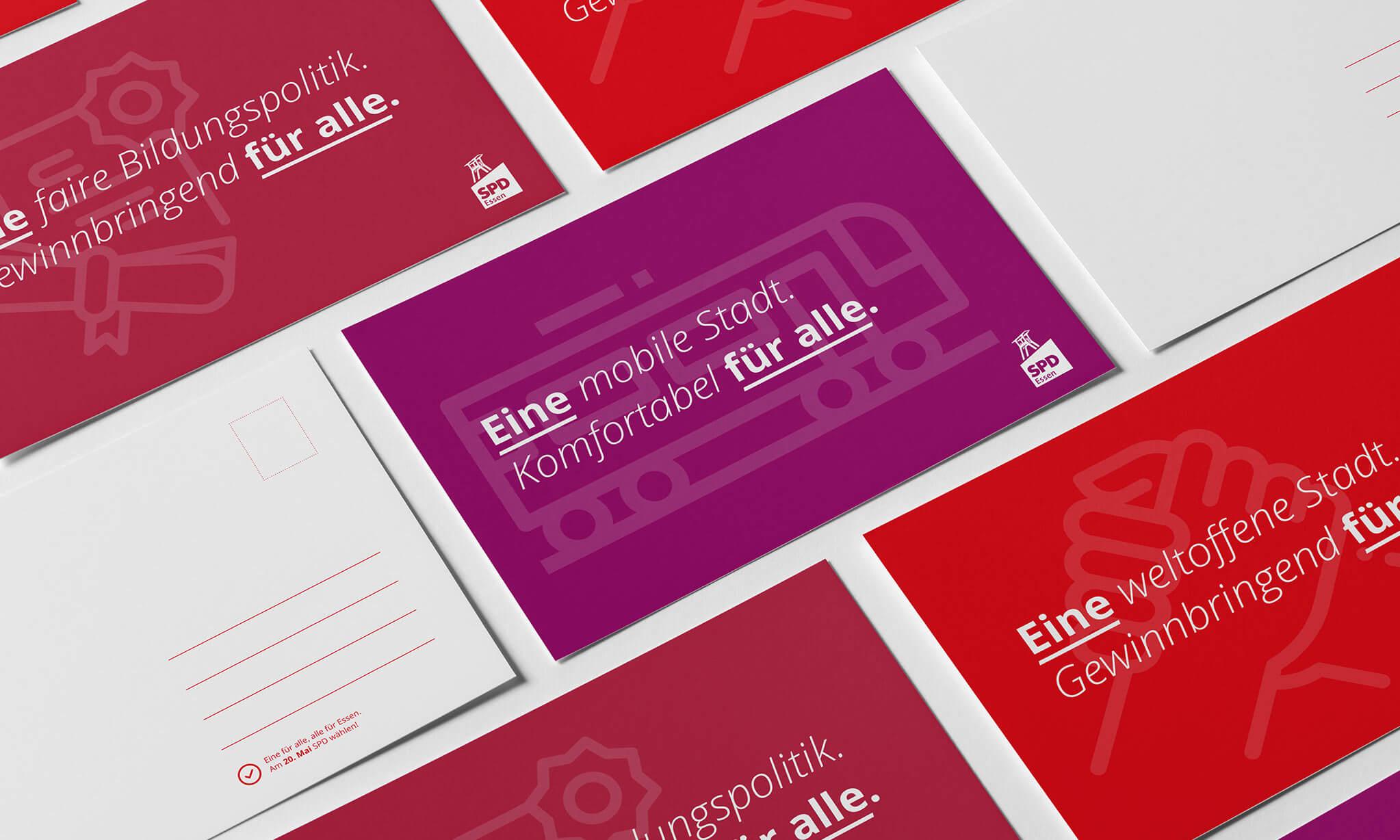 Citycards Wahlkampfkampagne