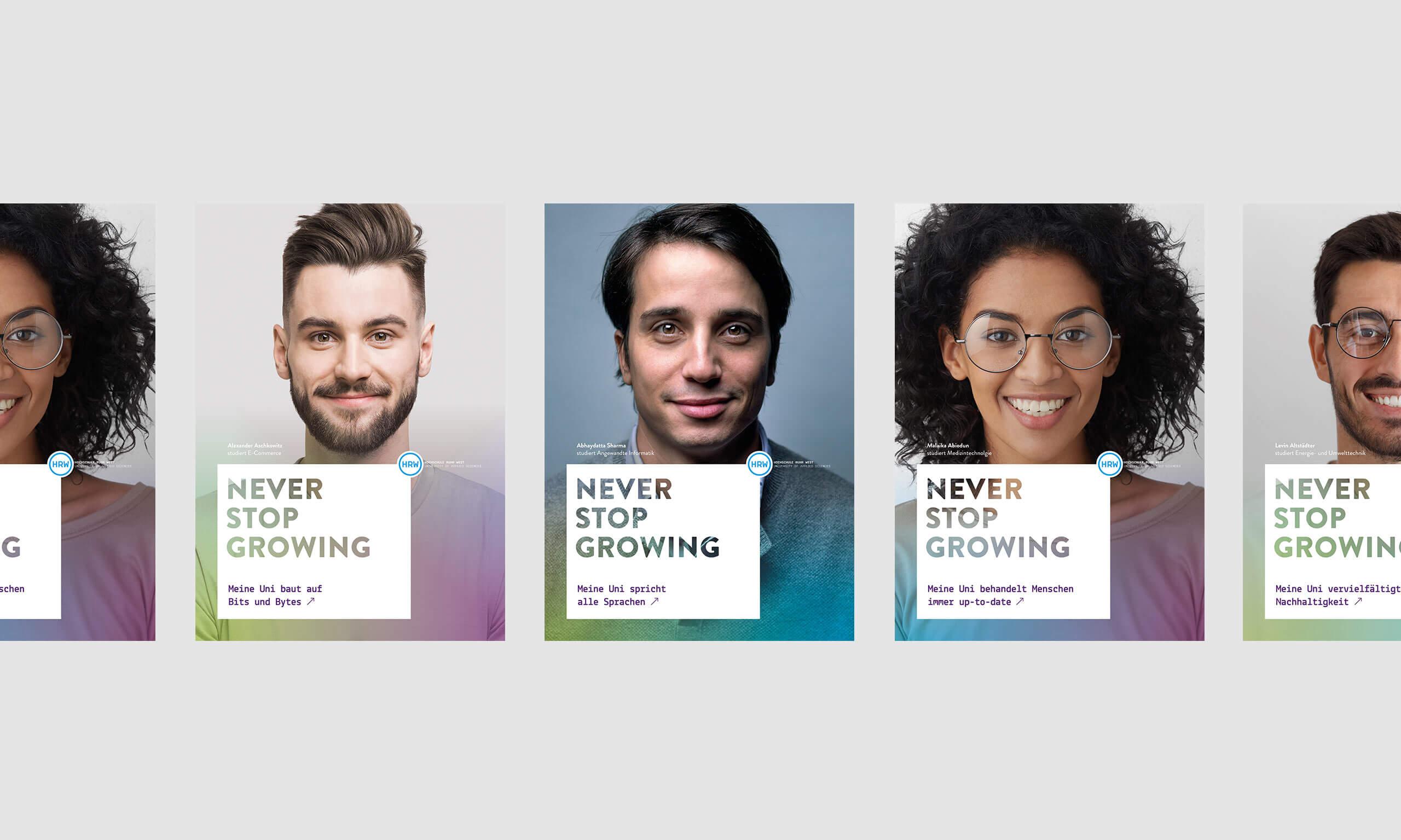 HRW Kampagnen Motive Design