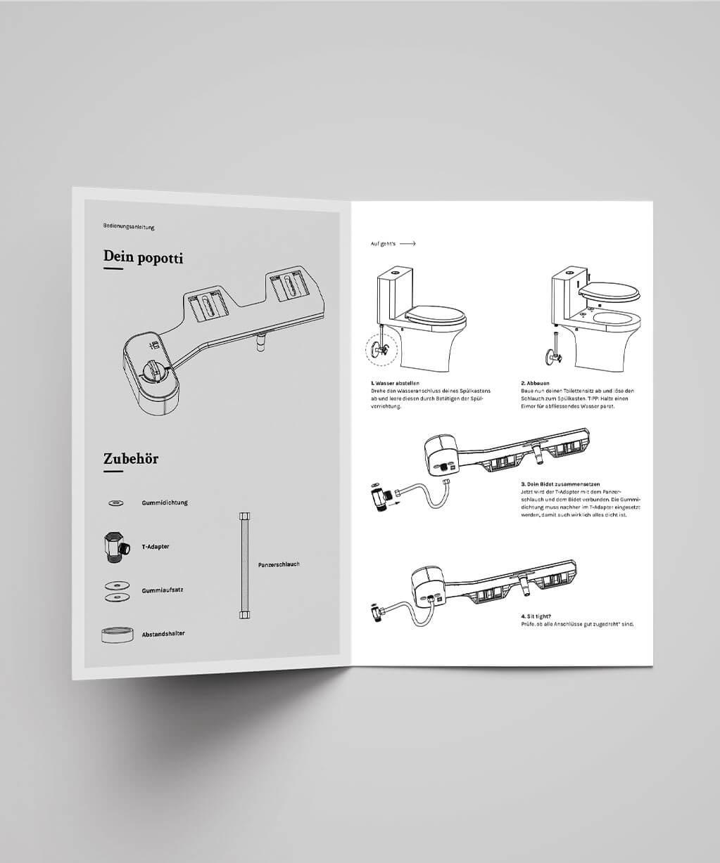 popotti Manual Design Innenteil