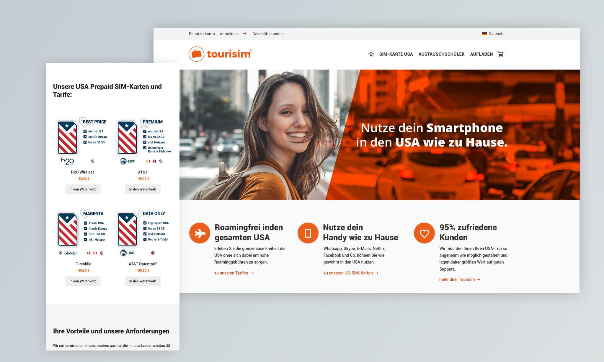 tourisim Webdesign & eCommerce by ESY